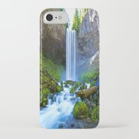 waterfall iPhone & iPod Cases featuring Waterfall by 2sweet4words Designs