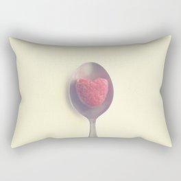 Raspberry love Rectangular Pillow