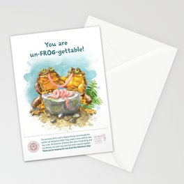 You are un-FROG-gettable! Stationery Cards