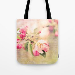Blossoming Love Tote Bag