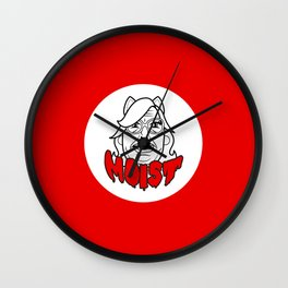 MOIST CHEZ Wall Clock