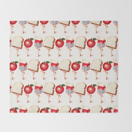 Lunch Ladies Pin-Ups Throw Blanket