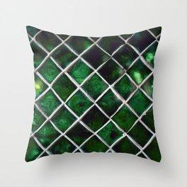 Emerald Pattern Throw Pillow