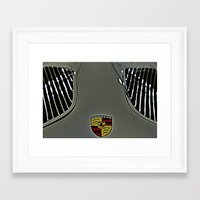 porsche Framed Art Prints featuring Porsche by LeicaCologne Germany