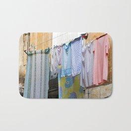 LAUNDRY DAY - Catania - Sicily Bath Mat