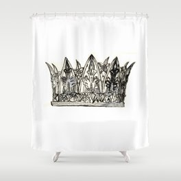 Crown I Shower Curtain