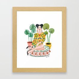 Goddess Girl Framed Art Print