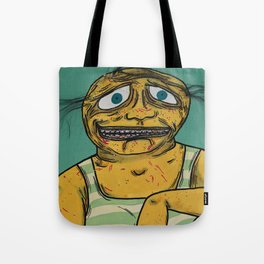 Fatty & His Pet Dil Tote Bag
