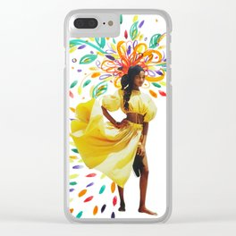 Summer Premonition Clear iPhone Case
