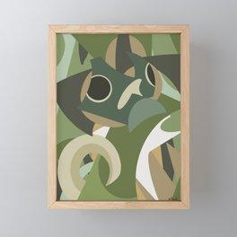 Shapes of Bruce Framed Mini Art Print