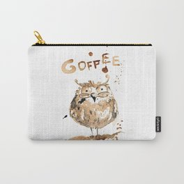 Coffee owl Carry-All Pouch