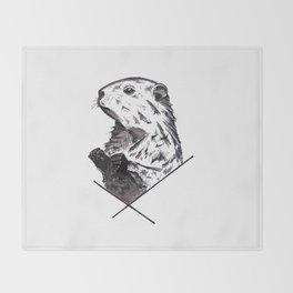 Marmot Throw Blanket