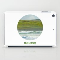 ruben ireland iPad Cases featuring Ireland by Dustin Hall