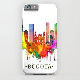 Bogota Colombia Skyline iPhone Case