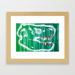 Dino Grill Framed Art Print
