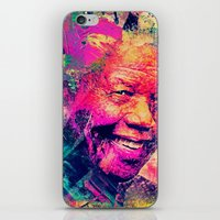 mandela iPhone & iPod Skins featuring Mandela by Alexandre Perotto