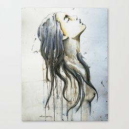 sueño de tinta y papel Canvas Print