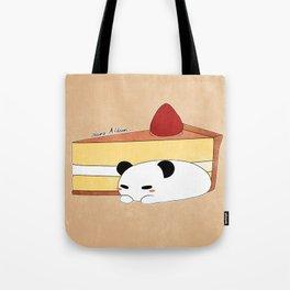 Panda Pudding Tote Bag