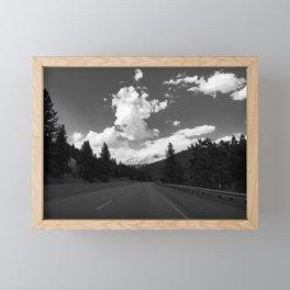 Mount Shasta Framed Mini Art Print