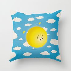 Summersault Throw Pillow