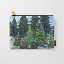 Field of Christmas Trees Carry-All Pouch
