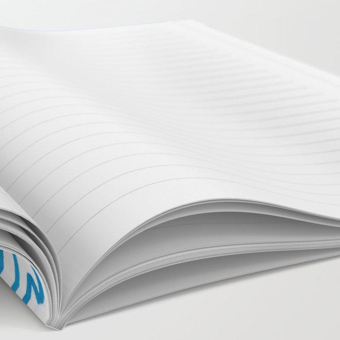 Denim Discoid Notebook