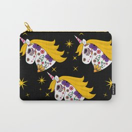 Sugar Skull Unicorn - Pouch Carry-All Pouch
