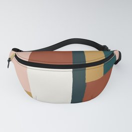 Spring Color Block Fanny Pack