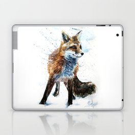 Fox watercolor Laptop & iPad Skin