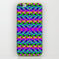 Rainbow Scaffolding iPhone & iPod Skin