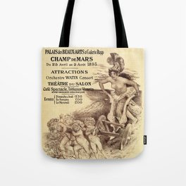 Expo Commerce Paris 1893 Tote Bag