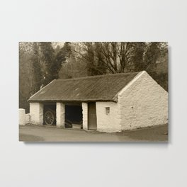 Thatched Workshop Omagh Tint Metal Print