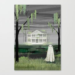 Walter's House Canvas Print