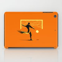 soccer iPad Cases featuring Soccer by Enzo Lo Re