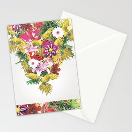 Parrot Floral Stationery Cards