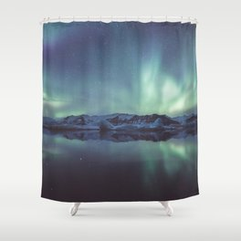 Jokulsarlon Lagoon - Landscape and Nature Photography Shower Curtain