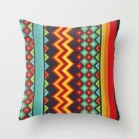 mexico Throw Pillows featuring Mexico by rusanovska