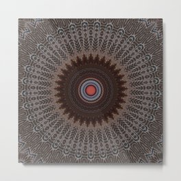 Some Other Mandala 615 Metal Print