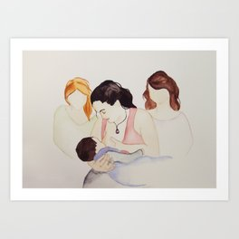The Gift of Milk. The Gift of Sisterhood  Art Print