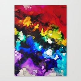 Fractured Rainbow Canvas Print