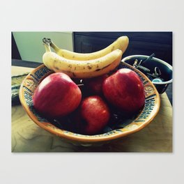Fruit Bowl Canvas Print