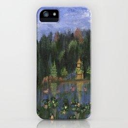 Golden Pagoda iPhone Case
