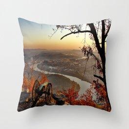 Scenic City Chattanooga TN Throw Pillow