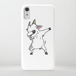 Funny Goat Dabbing iPhone Case