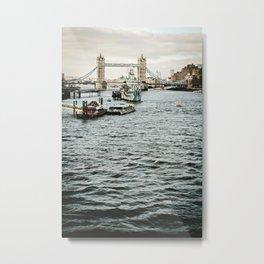Vintage London 03 Metal Print