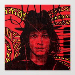 Jack White, we're going to be friends Canvas Print