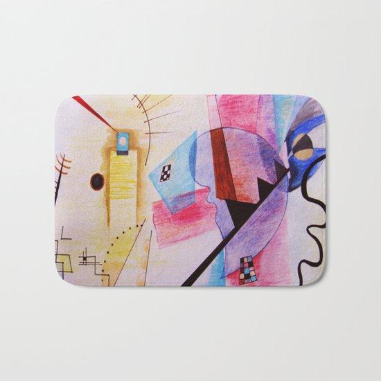 inspiration from Kandinsky Bath Mat