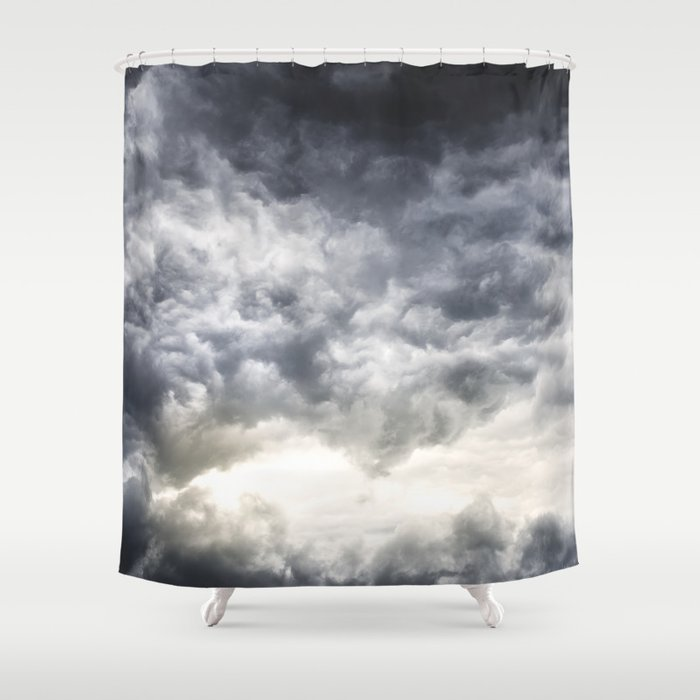 Cloudio di porno Shower Curtain