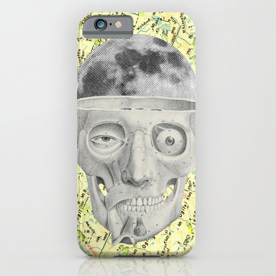 poor skeleton steps out iPhone & iPod Case