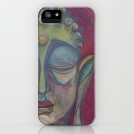 Gautama Buddha iPhone Case
